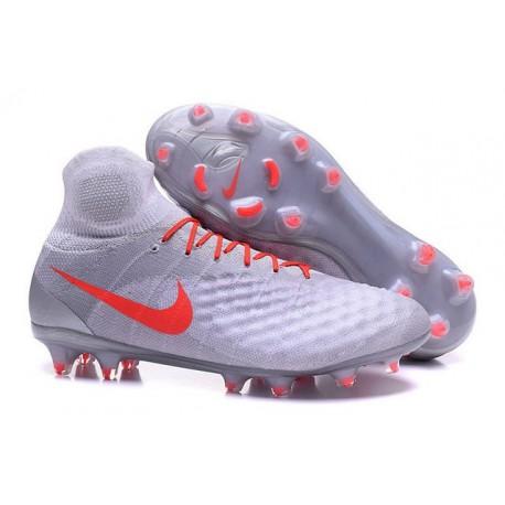 Scarpe da Calcio Nuovo Nike Magista Obra II FG ACC Bianco Arancio