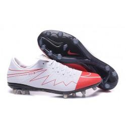 Nike Hypervenom Phinish 2 FG Rooney Bianco Rosso Scarpa Calcio