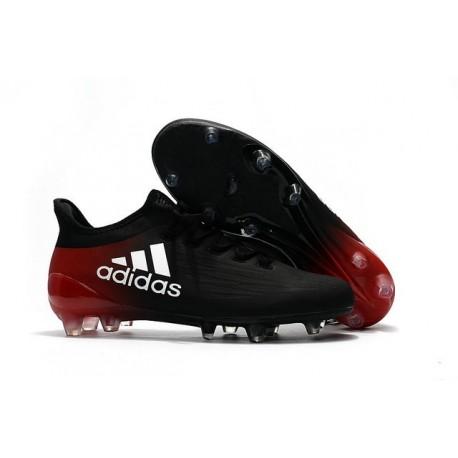 Scarpa da Calcio Nuovo Adidas X 16.1 FG Nero Rosso