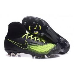 Nike Magista Obra 2 FG Scarpa da Calcio Uomo Nero Giallo