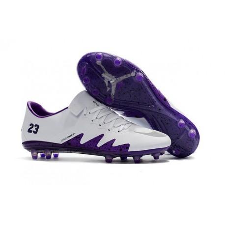 Nike Hypervenom Phinish 2 FG Scarpa Calcio Bianco Viola