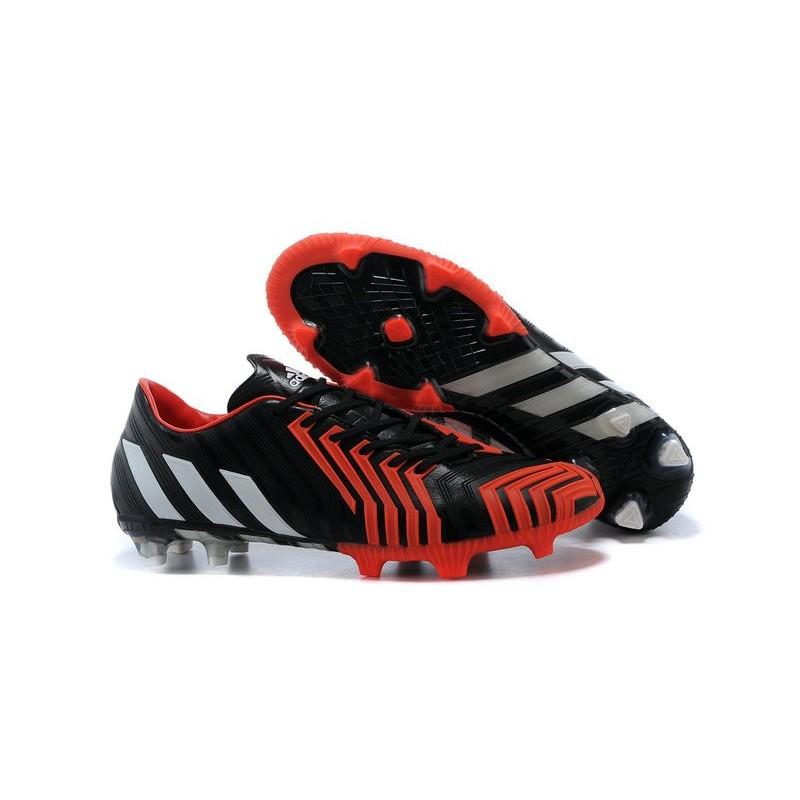 best sneakers 4530f f3384 Uomo Rosso Scarpe Instinct Predator Fg Bianco Calcio Da Adidas Nero FwF0Aq