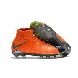 Nike Scarpe Calcio Hypervenom Phantom III DF FG Edizione Limitata - Arancio Nero