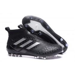 adidas ACE 17+ PureControl FG Scarpa da Calcio Uomo - Nero Metallic