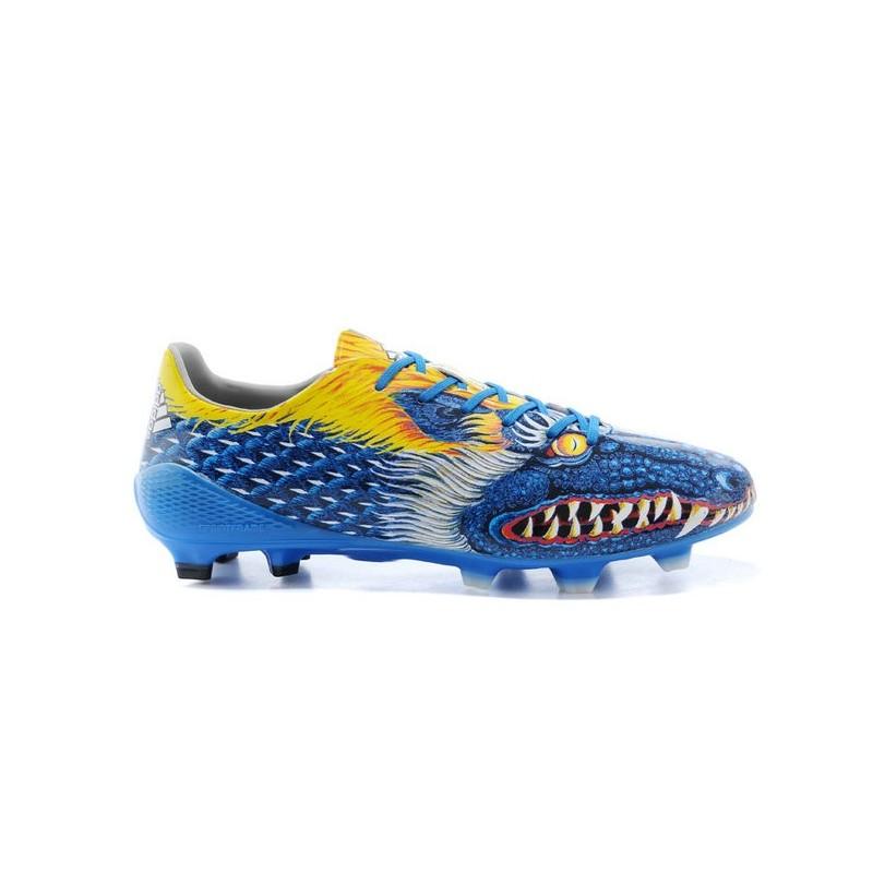 Adidas Scarpe Calcio Uomo F50 Adizero Yohji Yamamoto Blu Verde