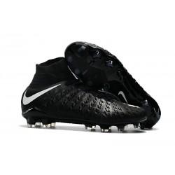 Nike Hypervenom Phantom III Dynamic Fit FG Scarpa da Calcio Nero Bianco