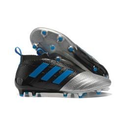 Scarpe adidas ACE 17+ PureControl FG Uomo - Metallico Nero Blu