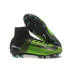 Nuovo Scarpa Calcio Nike Mercurial Superfly 5 FG ACC - Verde Nero
