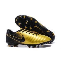 Nike Tiempo Legend VII FG ACC Nuovo Scarpa - Oro Nero