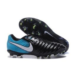 Nike Tiempo Legend VII FG ACC Nuovo Scarpa - Blu Nero