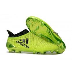 Scarpe Uomo Adidas X 17+ Purespeed FG Verde