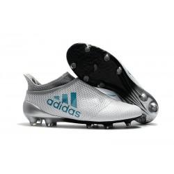 Scarpe Uomo Adidas X 17+ Purespeed FG Bianco