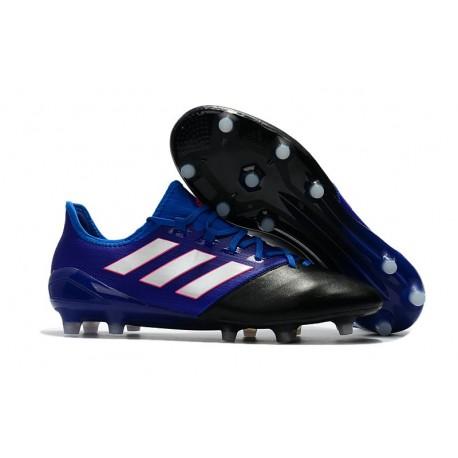 Da 1 Calcio Fg Ace 17 Scarpe Adidas Uomo Bianco Leather Blu Nero zUqpMSVG