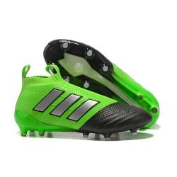 Scarpe adidas ACE 17+ PureControl FG Uomo - Verde Nero Metal