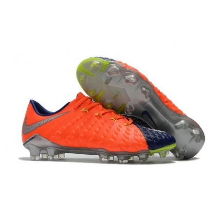 Scarpa da Calcio Nike Hypervenom Phantom III FG ACC Arancio Nero