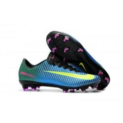 Scarpe da Calcio Nike Mercurial Vapor 11 FG - Blu Giallo