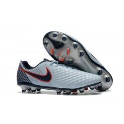 Nike Magista Opus II FG Nuovo Scarpe da Calcetto Grigio