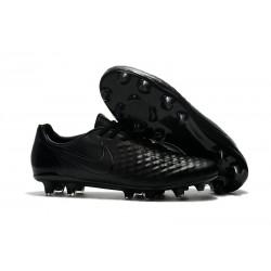 Nike Magista Opus II FG Nuovo Scarpe da Calcetto Tutto Nero