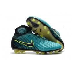 Scarpa da Calcio Nuovo Nike Magista Obra 2 FG ACC Blu Nero