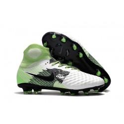 Scarpa da Calcio Nuovo Nike Magista Obra 2 FG ACC Bianco Nero Verde