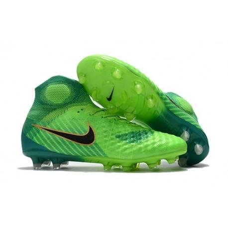 Scarpa da Calcio Nuovo Nike Magista Obra 2 FG ACC Verde Nero