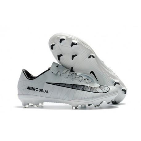 Calcio Vapor Mercurial 11 Cr7 Da Ronaldo Bianco Nike Nero Scarpe Cristiano Fg p4twqR