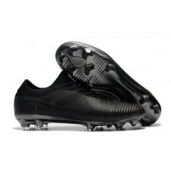 Scarpa da Calcio Nike Mercurial Vapor Flyknit Ultra FG - Tutto Nero