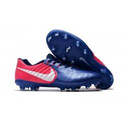 Scarpe da Calcio Nike Tiempo Legend 7 FG - Blu Rosa