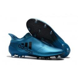 Scarpe Uomo Adidas X 17+ Purespeed FG Blu
