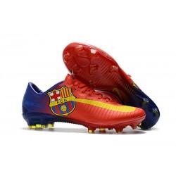 Scarpe da Calcio Nike Mercurial Vapor 11 FG - Barcelona Rosso