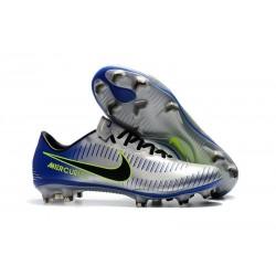 Nike Mercurial Vapor XI FG Scarpa da Calcio Uomo - Metallico Blu