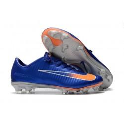 Nike Mercurial Vapor XI FG Scarpa da Calcio Uomo - Blu Arancio