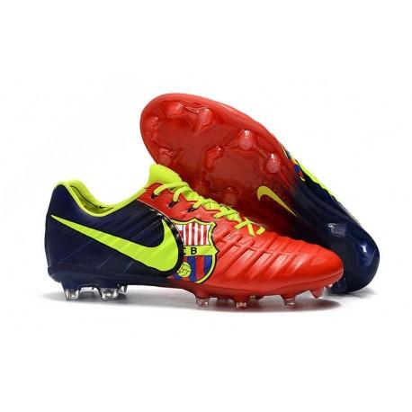 Barcelona Da Rosso Calcio Nike Legend Tiempo 7 Fg Scarpe v0nwONym8