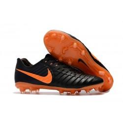 Scarpe da Calcio Nike Tiempo Legend 7 FG - Nero Arancio