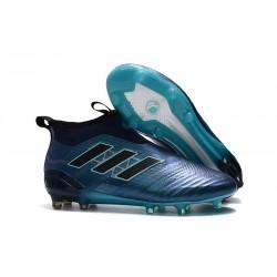 Scarpe adidas ACE 17+ PureControl FG Uomo - Blu Nero