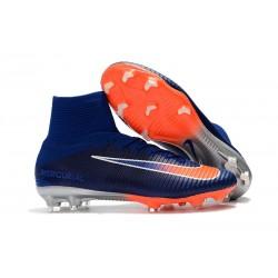 Nike Scarpe Mercurial Superfly V FG Uomo - Blu Arancio