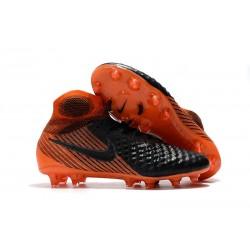 Nike Magista Obra II FG Scarpe da Calcio Uomo - Nero Arancio