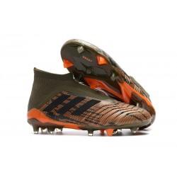 Adidas Predator 18+ FG Nuovo Scarpe da Calcio - Verde Arancio