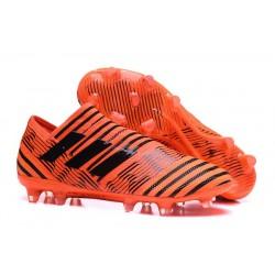adidas Nemeziz Messi 17+ 360 Agility FG Scarpa da Calcio - Arancio Nero