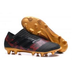 adidas Nemeziz Messi 17+ 360 Agility FG Scarpa da Calcio - Nero Rosso Oro