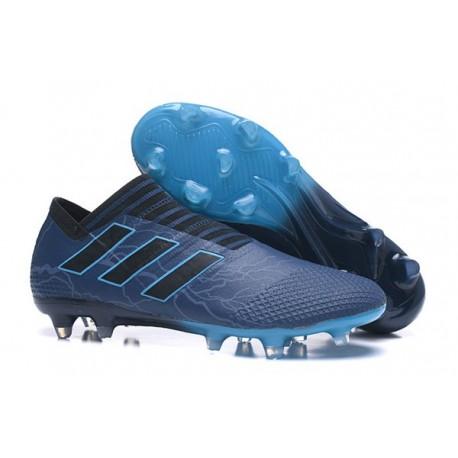 Scarpe adidas Nemeziz Messi 17+ 360 Agility FG - Blu Nero