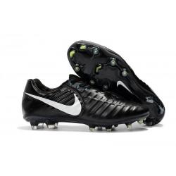 Nike Scarpe da Calcio Tiempo Legend 7 FG - Nero Bianco