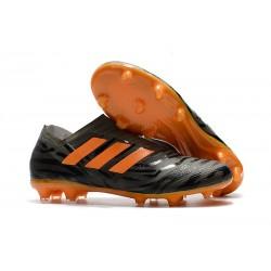 Scarpe adidas Nemeziz Messi 17+ 360 Agility FG - Nero Arancio