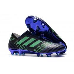 Scarpe adidas Nemeziz Messi 17+ 360 Agility FG - Nero Viola Verde