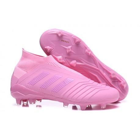 Scarpa da Calcio Adidas Predator 18+ FG Rosa