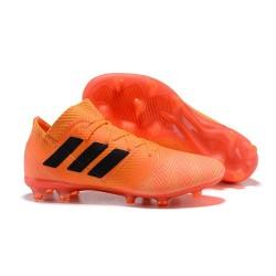 Adidas Nemeziz Messi 18.1 FG Scarpa Coppa del Mondo - Arancio Nero
