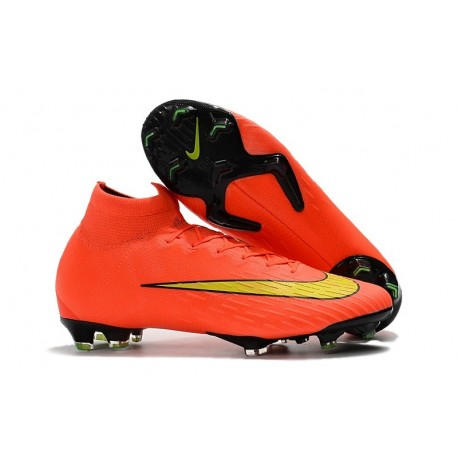 Nike Mercurial Superfly 6 Elite FG Coppa del Mondo 2018 - Arancio Giallo