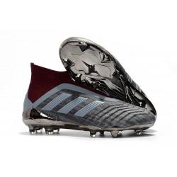 Paul Pogba adidas PP Predator 18+ FG 2018 Gris Rosso