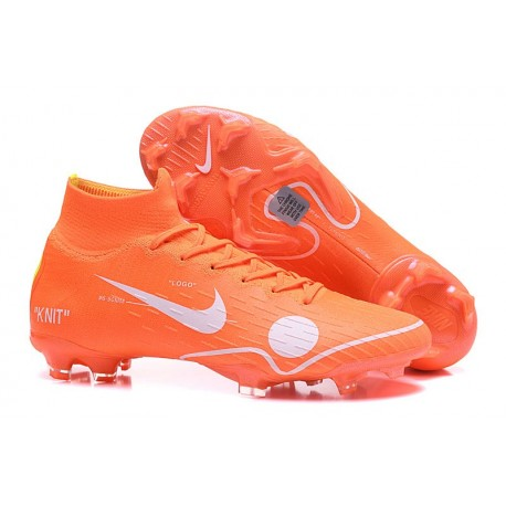 Nike Mercurial Superfly 6 Elite FG Off-white 2018 Arancio