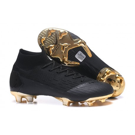 Nike Mercurial Superfly VI Elite FG 2018 Scarpa da Calcio - Nero Oro